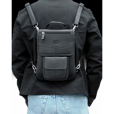 MacCase Premium Leather iPad Flight Jacket with Backpack Option in Vinatge