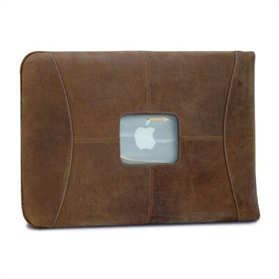 "MacCase 13"" Premium Leather MacBook Sleeve in Vintage"