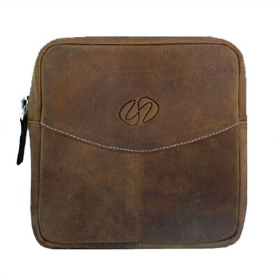 MacCase Premium Leather Accessory Pouch