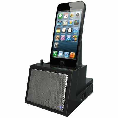 DOK Portable Universal Cradle with Speaker System (Bluetooth) and Rechargeable Battery
