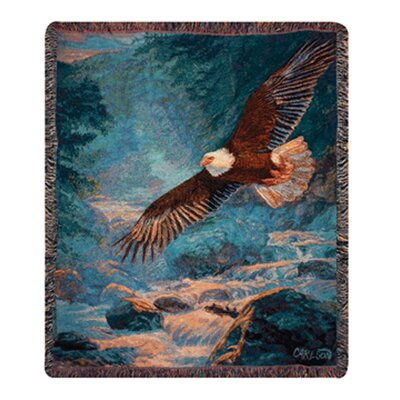 Manual Woodworkers & Weavers American Majesty Tapestry Cotton Throw