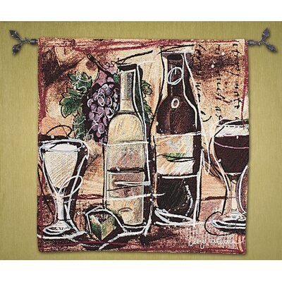 Manual Woodworkers & Weavers Wine and Cheese Tapestry