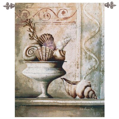Shells in Vase Tapestry