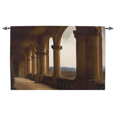 Manual Woodworkers & Weavers Loggia View Tapestry