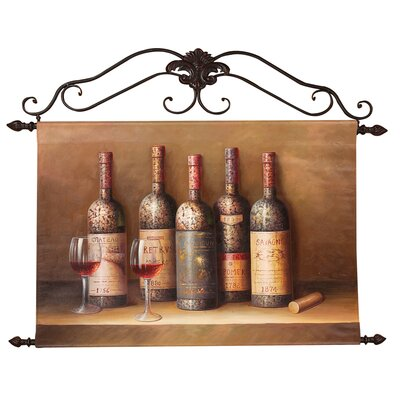 Estate Wine Collection Canvas Art
