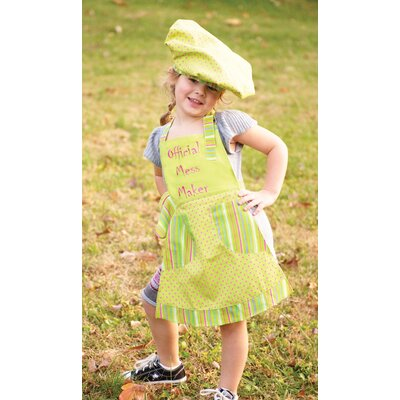 Manual Woodworkers & Weavers Izzy Official Mess Maker Child's Apron