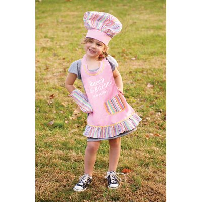 Manual Woodworkers & Weavers Izzy Queen of the Kitchen Child's Apron