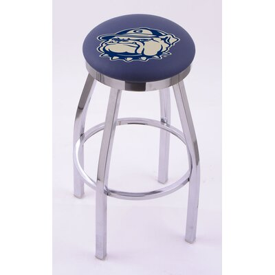 Holland Bar Stool NCAA Single Chrome Ring Swivel Barstool