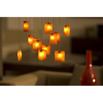 Light In Art by Shimal'e Peleg Tulip 16 Light Chandelier