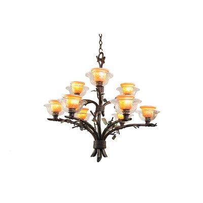 Kalco Cottonwood 9 Light Chandelier