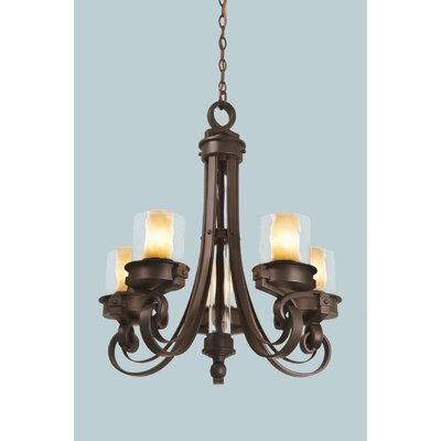 Kalco Newport 5 Light Chandelier