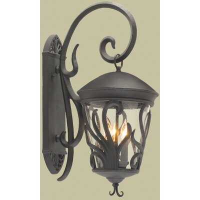 Kalco Gatsby 3 Light Outdoor Wall Lantern