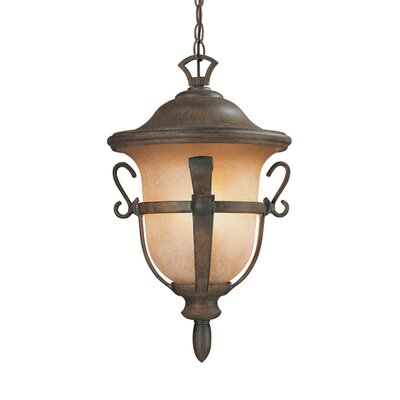 Kalco Tudor 3 Light Outdoor Hanging Lantern