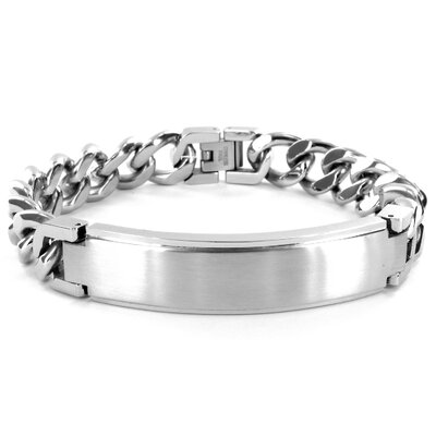 West Coast Jewelry Curb Chain Bracelet