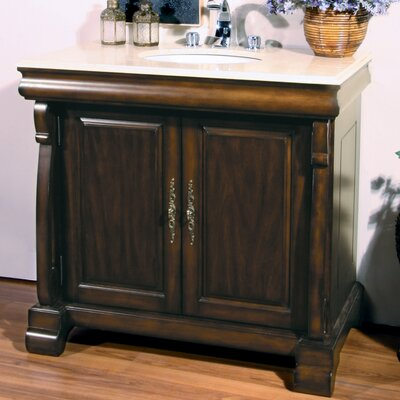 "Legion Furniture 38"" Dabney Sink Chest Vanity Set"