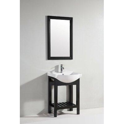 legion furniture 24 single bathroom vanity set with mirror features