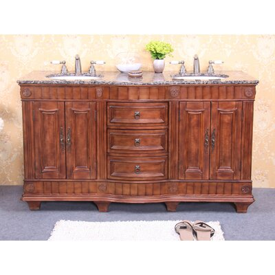"Legion Furniture 60"" Double Sink Vanity Base"