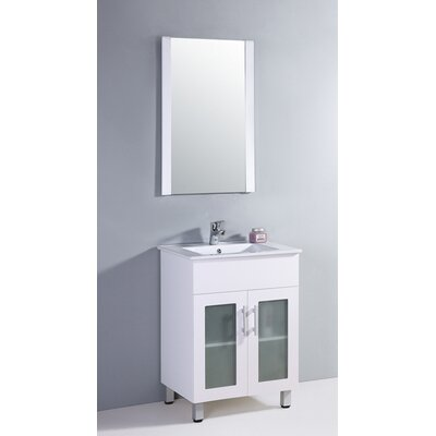 "Legion Furniture 24"" Sink Vanity Set with Mirror"
