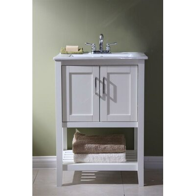 Legion furniture 24 single bathroom vanity set reviews for Bathroom cabinets 20 inches deep