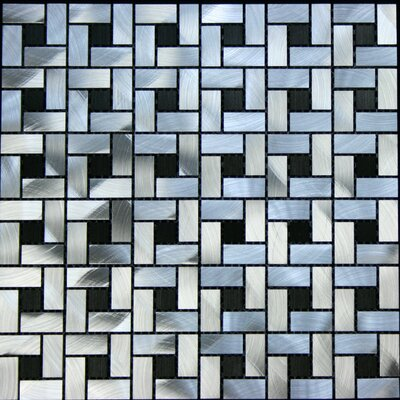 "Legion Furniture 12"" x 12"" Aluminum Tile"
