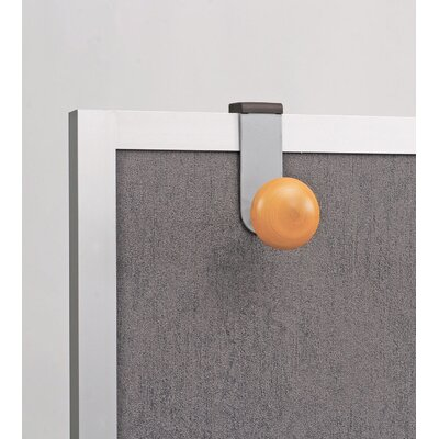 Alba Over-The-Panel Single Adjustable Coat Hook