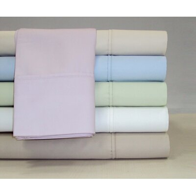 Grace Home Fashions Solid Easy Care 600 Thread Count Sheet Set