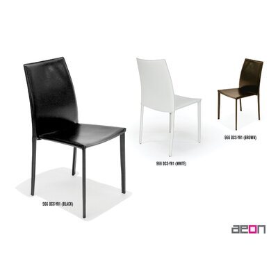 Aeon Furniture Bonded Leather Stacking Chair