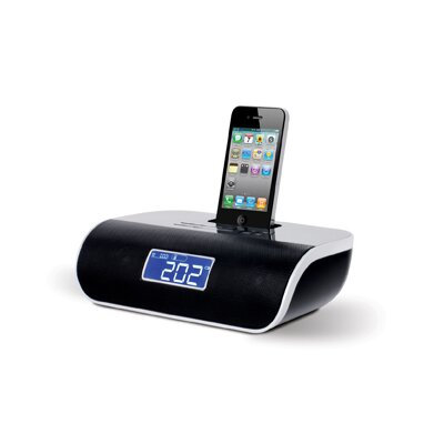 iessentials iPod/iPhone Docking Clock Radio