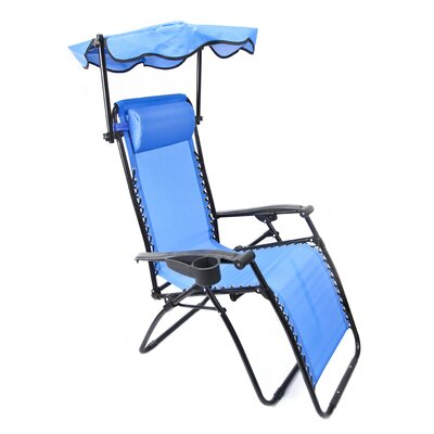 Jordan Manufacturing Zero Gravity Chair with Canopy