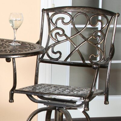 Home Loft Concept Santa Maria 3 Piece Bar Height Bistro Set