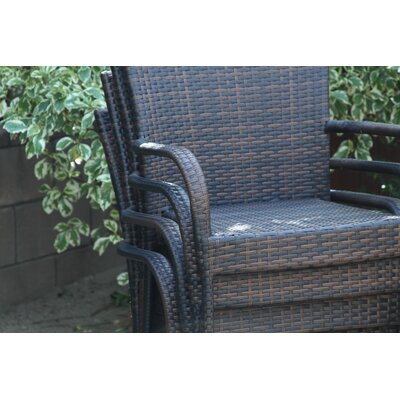 Home Loft Concept Caracas Outdoor Wicker Chair (Set of 4)