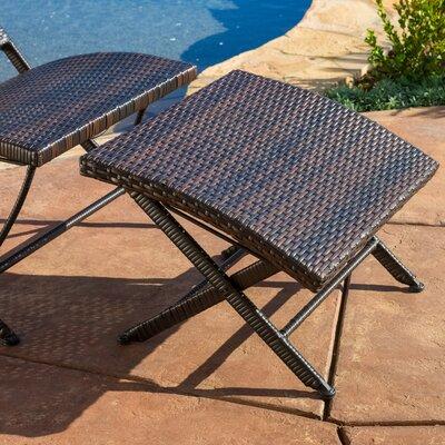 Home Loft Concept Terrace 2 Piece Wicker Lounge Chair