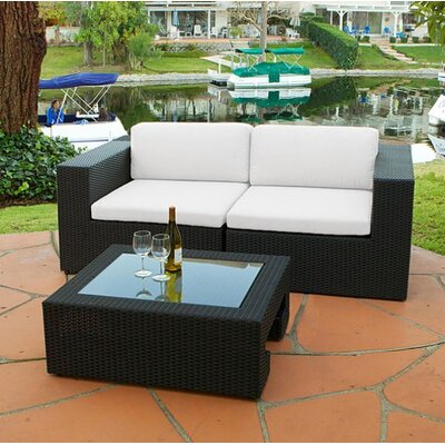 Home Loft Concept Malaga Loveseat Plus Table