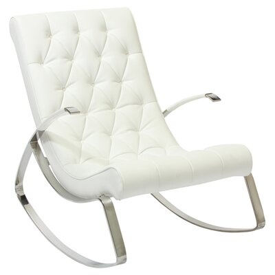 Home Loft Concept Gregory Tufted Rocking Chair