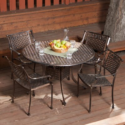 Home Loft Concept Sebastian 5 Piece Dining Set