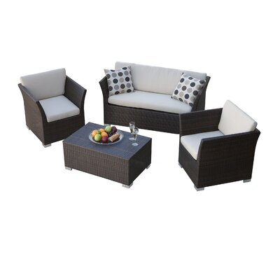 Home Loft Concept Laguna 4 Piece Seating Group