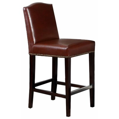 Home Loft Concept Bolton Bonded Leather Counter Stool
