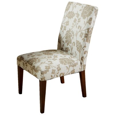 Floral Printed Parsons Chair