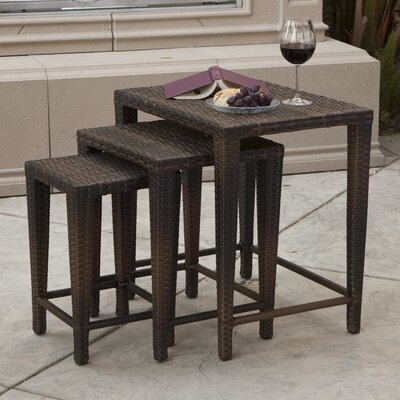 Home Loft Concept Del Mar 3 Piece Nesting Tables