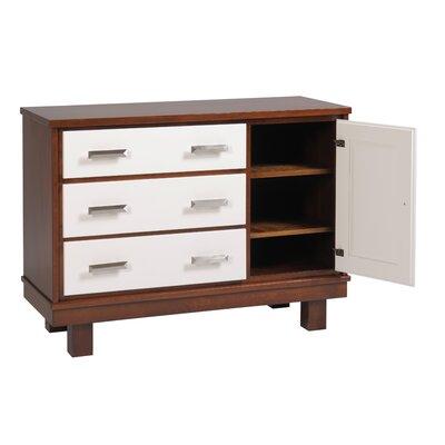 Capretti Design Liscio 3 Drawer Dresser