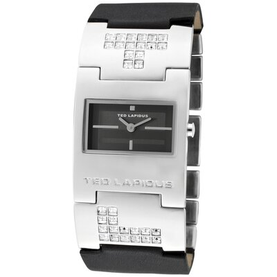 Ted Lapidus Women's Rectangle Watch
