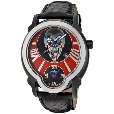 Men's Daredevil Vampire Dial Round Watch