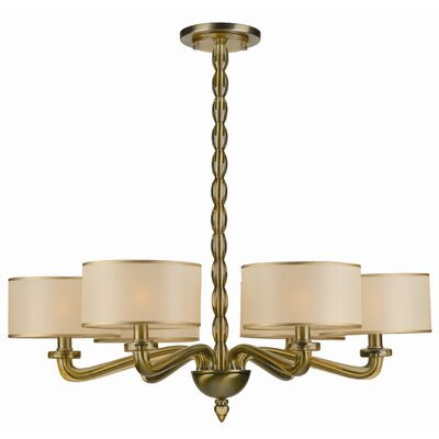Luxo 6 Light Chandelier