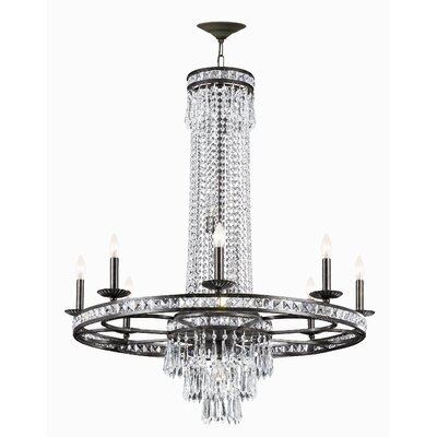 Majestic Series 12 Light Crystal Chandelier
