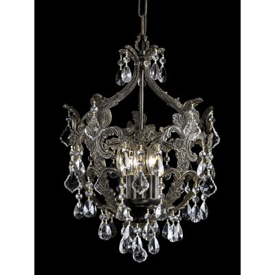 Crystorama Legacy 5 Light Mini Chandelier