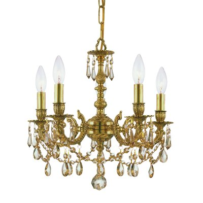 Crystorama Mirabella 5 Light Chandelier