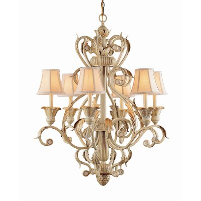 Winslow 6 Light Candle Chandelier