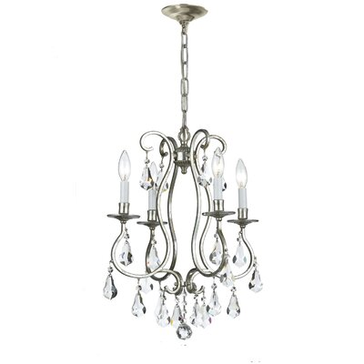 Ashton 4 Light Mini Chandelier