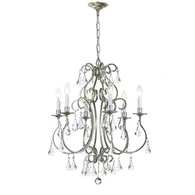 Ashton 6 Light Mini Chandelier