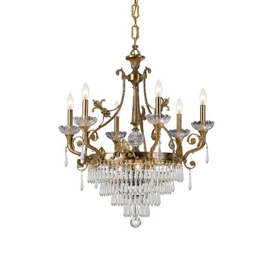 Traditional Classic 9 Light Crystal Chandelier